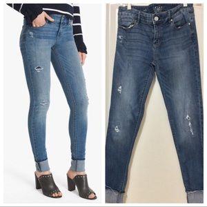 WHBM Skinny Ankle Jeans